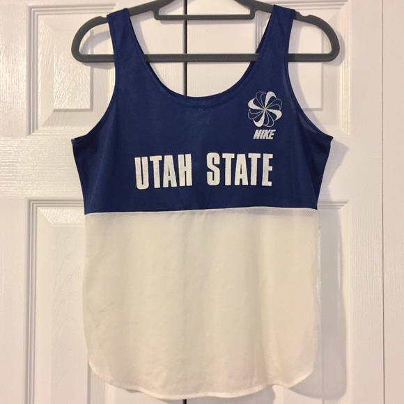 0d71572f Nike Shirts | Vintage Utah State Track Singlet | Poshmark